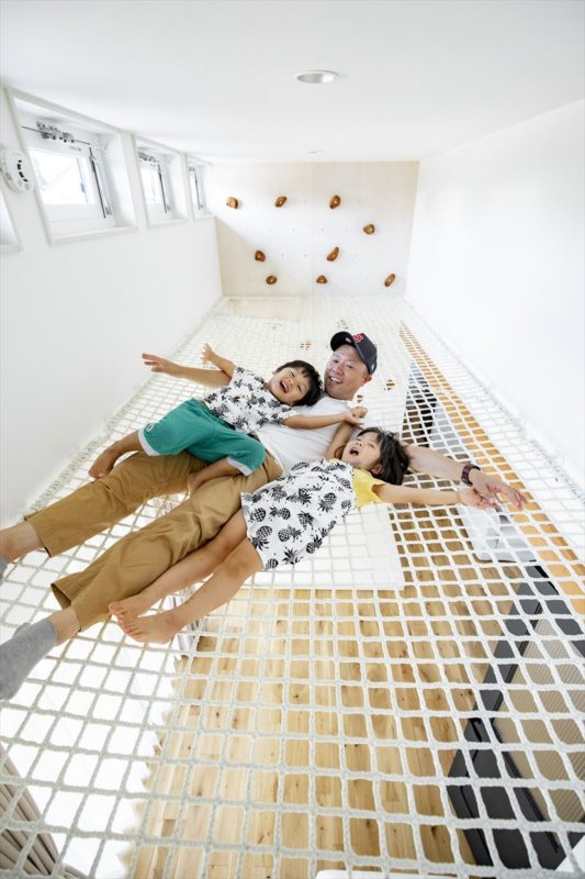 室内遊具(住宅)ネット遊具