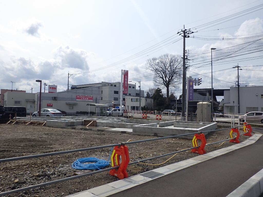 基礎コンクリート完成